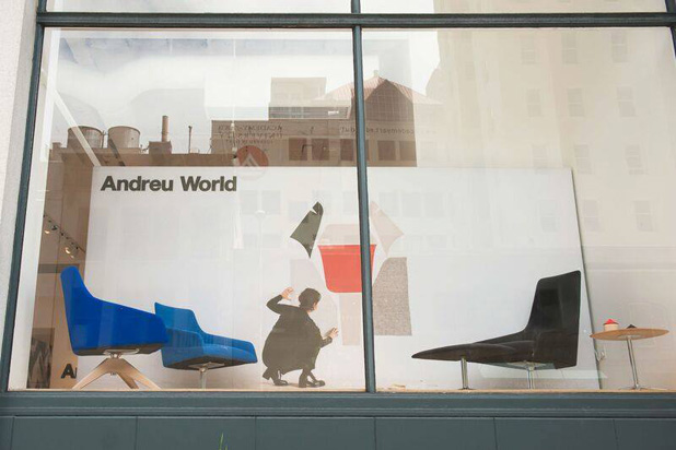 Showroom de Andreu World en San Francisco