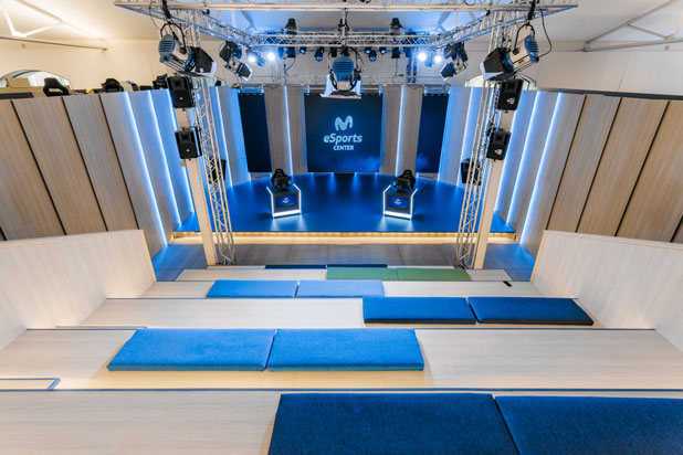 Movistar eSports Center en Madrid