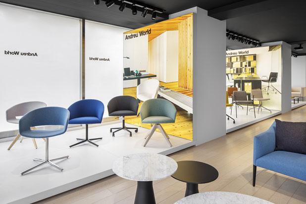 Los muebles de Andreu World en Tokio y Washington DC