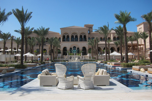 Colecciones EMMANUELy GOLF en el hotel One & Only The Palm Jumeirah en Dubai (EAU)