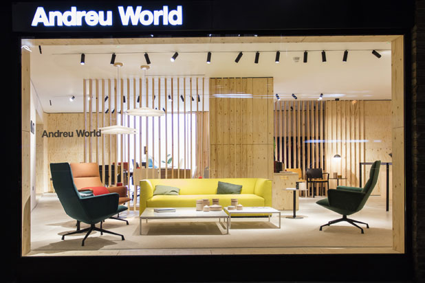 Show room de Andreu World en Londres