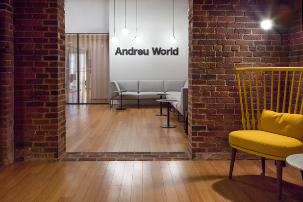 Showroom de Andreu World en Boston