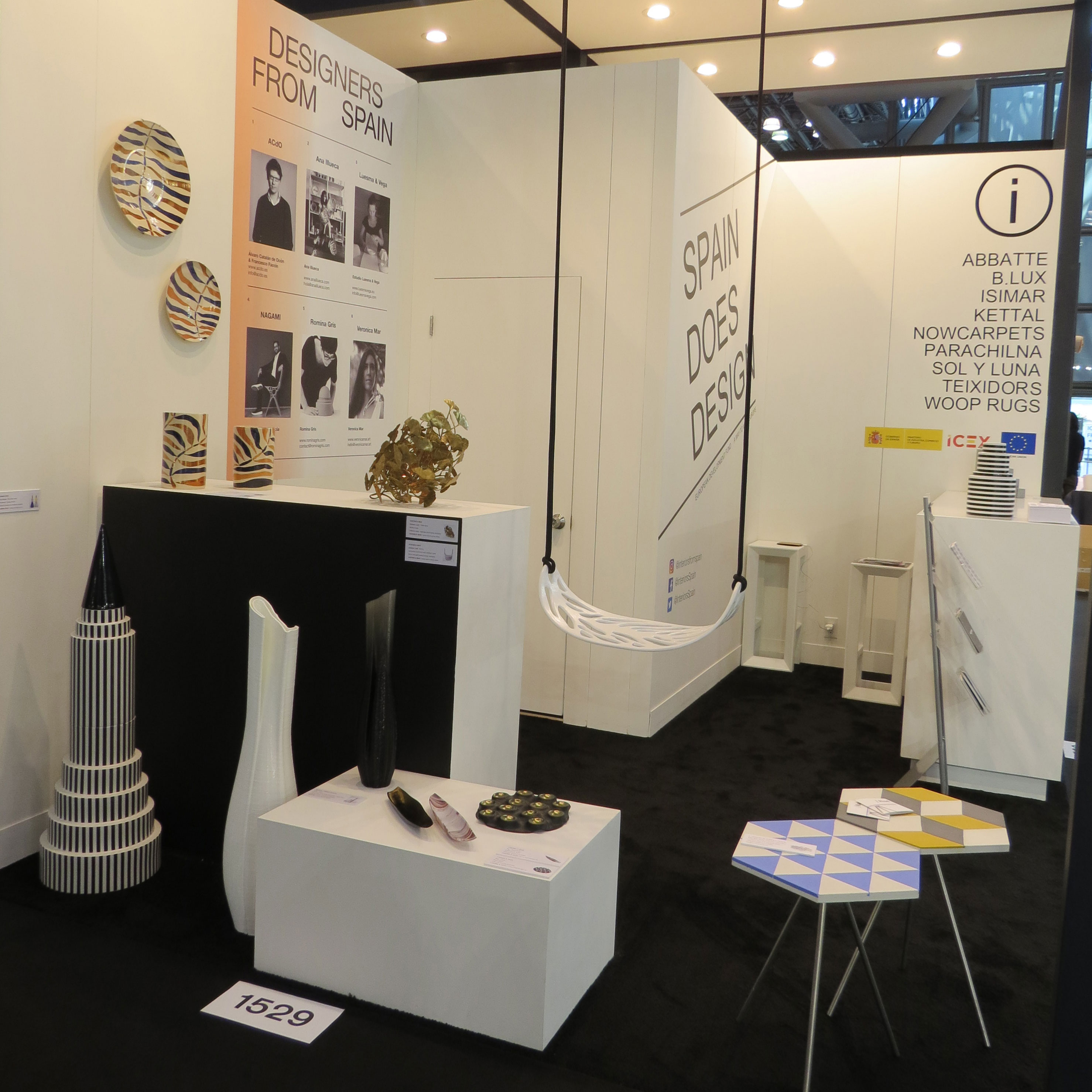 Exhibition Booth In Spanish : Interiors from spain spanish interior design website u003eu003e home