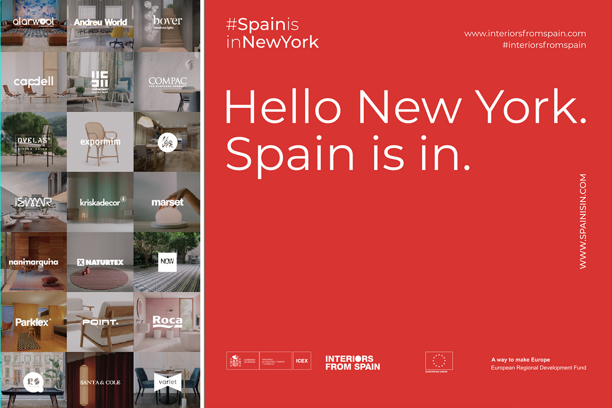 Interiors from Spain en BDNY Nueva York 2019