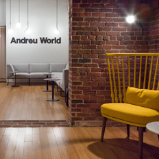Andreu World´s Showroom in Boston