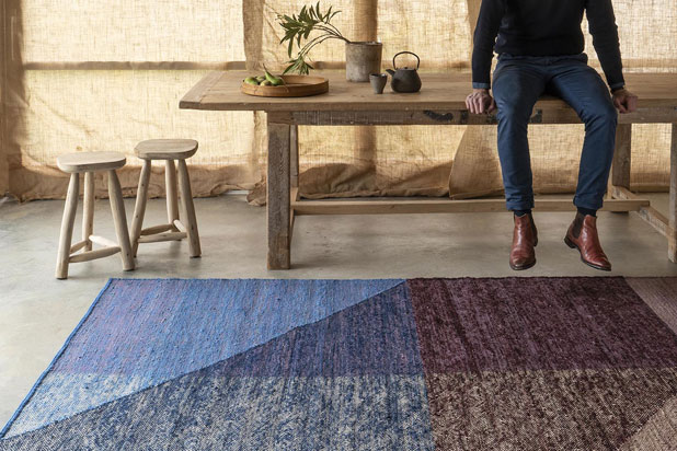 CAPAS rugs collection by Mathias Hahn for Nani Marquina. Photo: Courtesy of Nani Marquina.