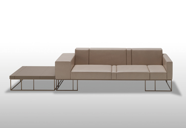 Elements sofas and tables for Inclass