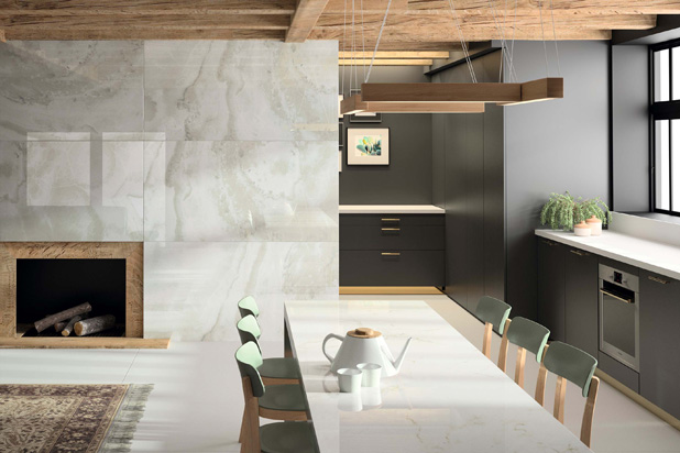 Fiord and Glacier ranges by Dekton, X Gloss natural collection