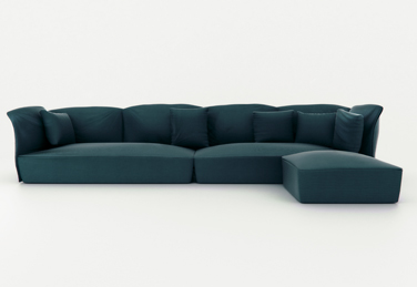 Nest sofa by Lagranja Studio, fantastically comfortable