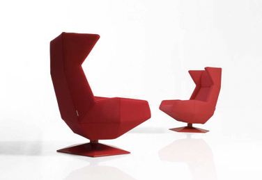 Oru armchair for Joquer