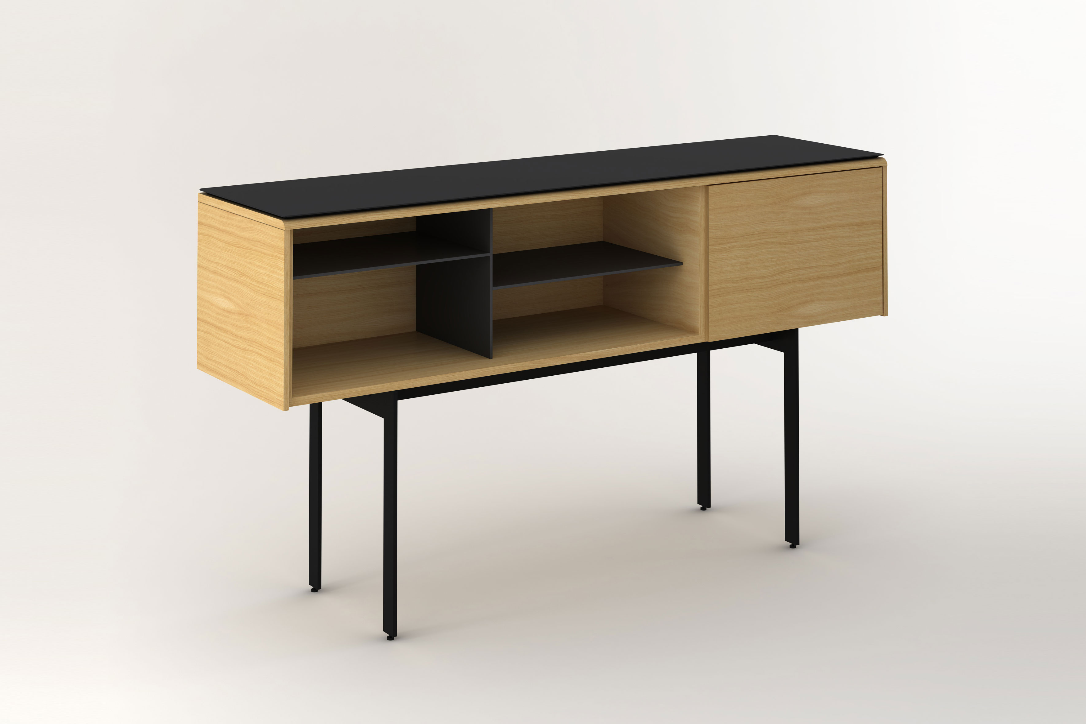 MALMÖ sideboard by Mario Ruiz for Punt Mobles. Photo: Courtesy of  Punt Mobles.