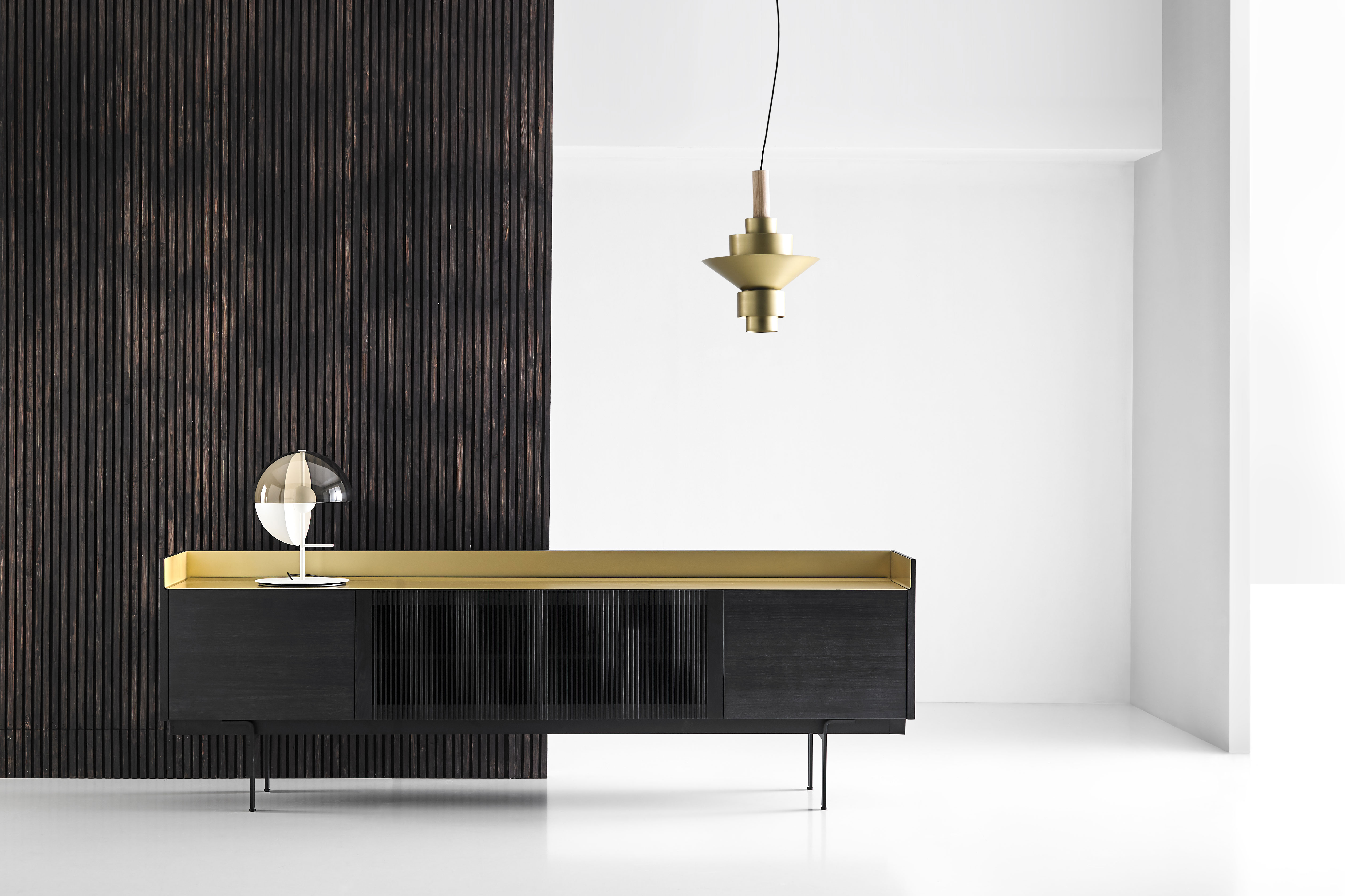 STOCKHOLM new sideboard compositions by Mario Ruiz for Punt Mobles. Photo: Courtesy of Punt Mobles.