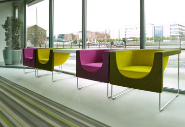 Nube chair at Publicis HQ in Dublin