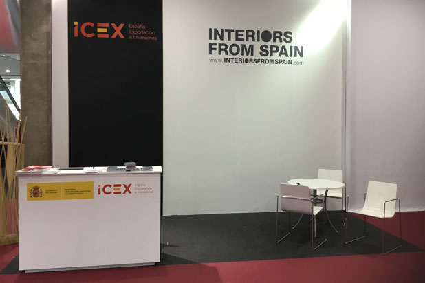 ICEX-Interiors from Spain stand