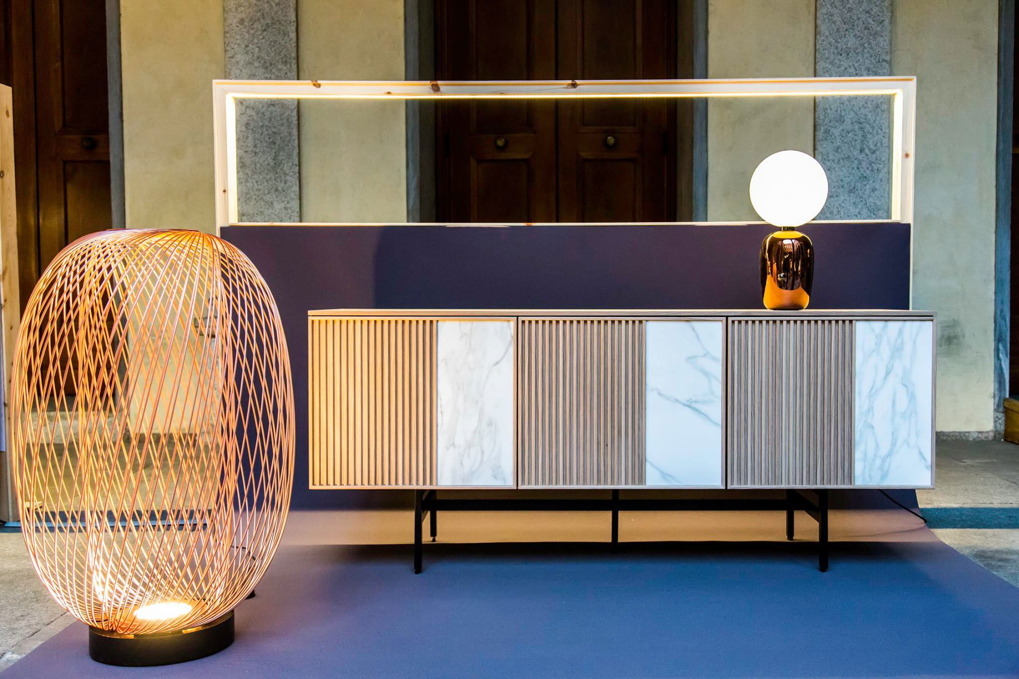 JAZZ sideboard by Borja García for Mobenia.Photo: Courtesy of Mobenia.