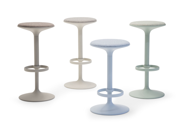 HULA barstools by Benjamin Hubert for Andreu World. Photo courtesy of Andreu World.