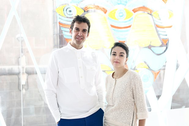 Marta Alonso and Imanol Calderón co-founders of  MAYICE