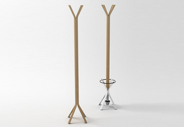 Bamb, a simple and pratical coat-stand