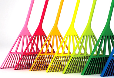 A multicoloured broom – tradition eclipsed by technology