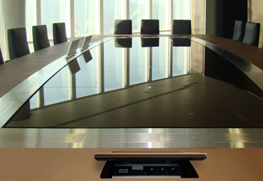 PARK AVENUE meeting table at office in Riyadh, Saudi Arabia