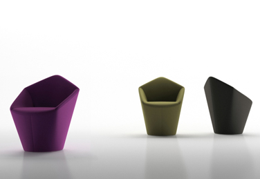 Penta armchair, designed by Toan Nguyen