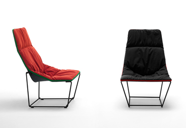 Ace armchair, designed by Jean Marie Massaud