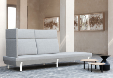 Platform seat and sofa collection, designed by Arik Levy