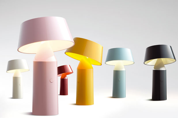 BICOCA wireless lamps, designed by Christophe Mathieu for Marset