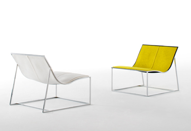 Holy Day armchair, designed by Jean-Marie Massaud