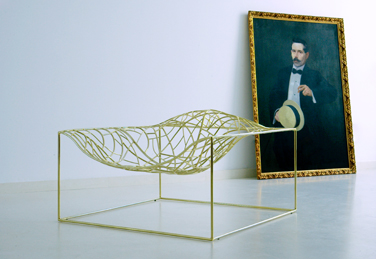Ad-Hoc armchair, designed by  Jean Marie Massaud