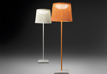 Wind floor lamps, designed by Jordi Vilardell