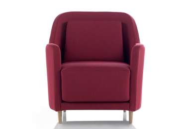 Armchair from Audrey collection by odosdesign