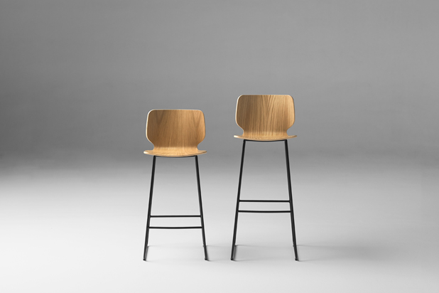 NIM WOOD stools by Yonoh for Inclass