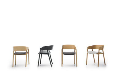 Mava chairs, designed by Stephanie Jasny