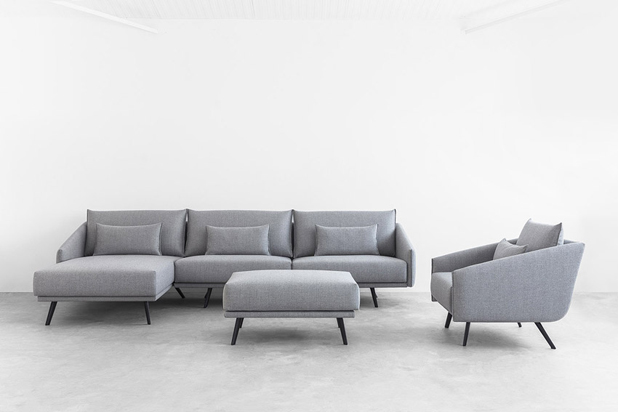 COSTURA sofa and armchair, designed by Jon Gasca for Stua