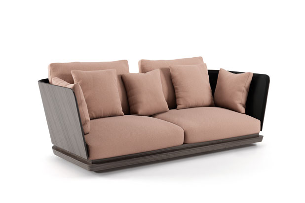 A. CORTESE sofa, designed by Monica Armani for Punt