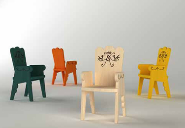 Children's furniture collection for Magis