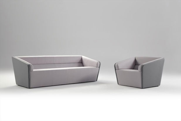 CARLA sofa and armchair, designed by Carrasco Barceló for Concepta