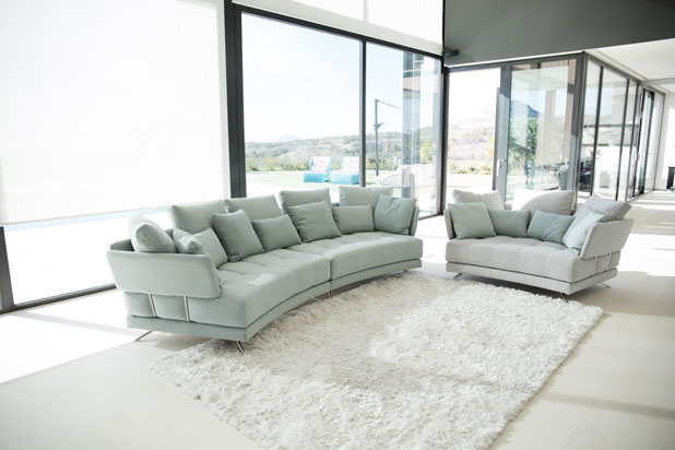PACIFIC sofa collection, designed by Félix López Gil for Fama