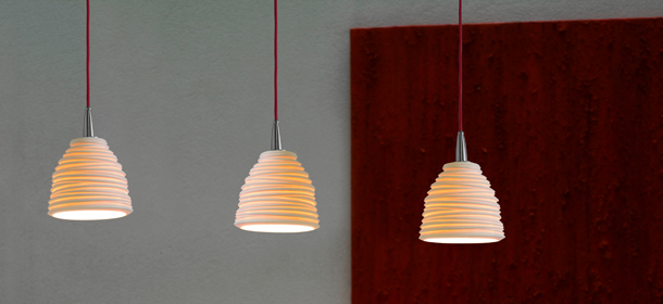 porcelain lighting. citric porcelain pendant lights designed by eloy puig lighting