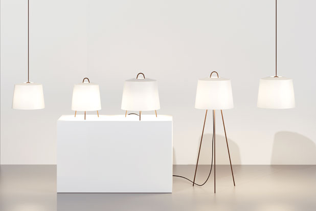 MIA lamps, designed by Michel Charlot for Kettal