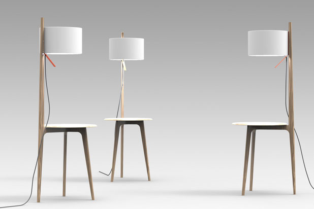 CARLA lamps, designed by Gabriel Teixido for Carpyen