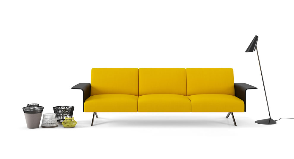 SISTEMA modular sofa, designed by Lievore Altherr Molina for Viccarbe