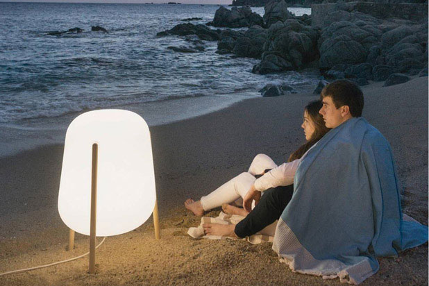 LLUM lamp, designed by CrousCalogero for Calma