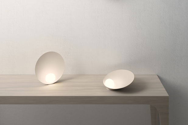 MUSA lights, designed by Note Design for Vibia