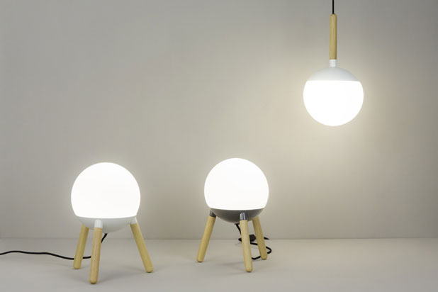 MINE lamps, designed by Nahtrang for Faro Barcelona
