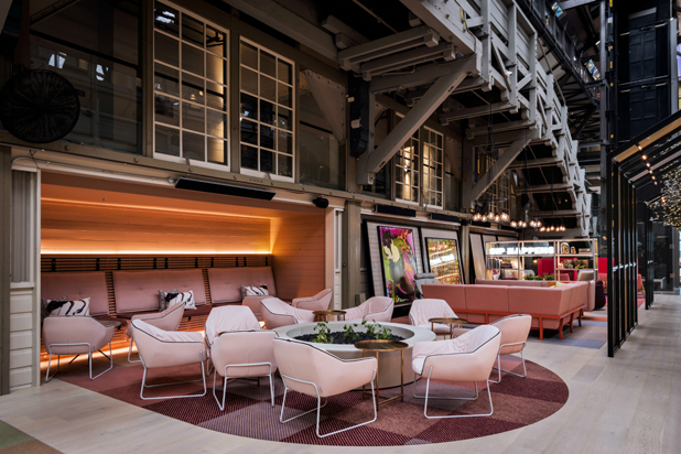 Sancal´s furniture at Ovolo Woolloomooloo Hotel in Sydney, Australia