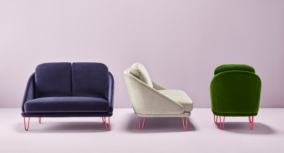 AGORA sofa and armchair, designed by Pepe Albargues for Missana