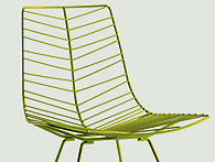 Leaf chair for Arper