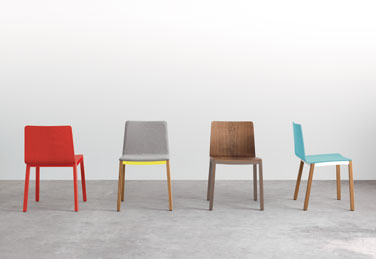 Tyris chairs, designed by Odosdesign